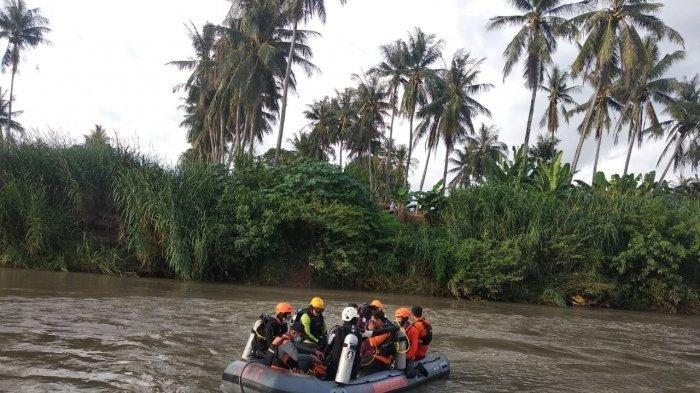 Amir Hanya Berhasil Menyelamatkan Irfan, Putra Lainnya Tenggelam di Sungai dan Belum Ditemukan