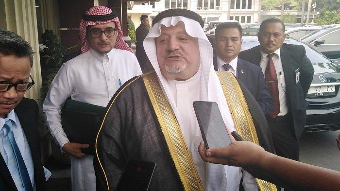 Dubes Arab Saudi untuk Indonesia Esam A. Abid Althagafi