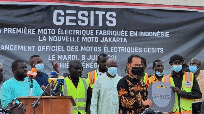 Gesits, Motor Listrik 'Made In' Indonesia Tembus Pasar Senegal