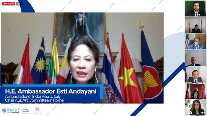 Konferensi Pemuda ASEAN - Italia: Anak Muda Indonesia Dorong Penguatan Kerja Sama Era Pandemi