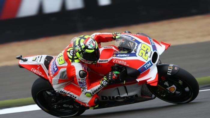 Ducati Susah Nikung dengan Kecepatan Tinggi kata Andrea Iannone