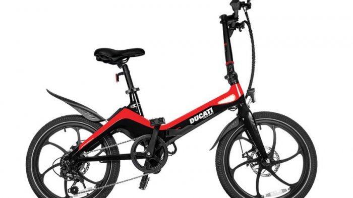 Beli e-Bikes Ducati Seharga Rp 27 Jutaan, Ini yang Spesial