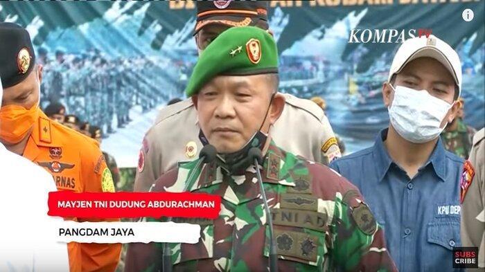 Pangdam Jaya, Mayjen TNI Dudung Abdurachman. Orang yang memerintahkan penurunan baliho Imam Besar FPI, Habib Rizieq Shihab.