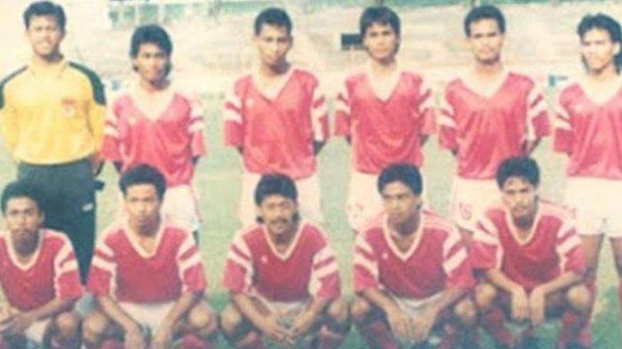 Tim nasional Indonesia SEA Games 1991. DOKUMENTASI TWITTER SRIWIJAYA FANS