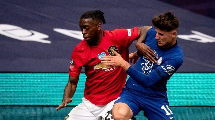 Duel Wan Bissaka dan Mason Mount di semifinal Piala FA