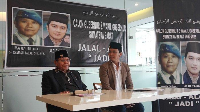 Aldi Taher dan Syamsu Jalal Deklarasikan untuk Maju Pilgub Sumbar 2020