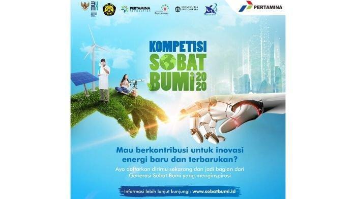 Dukung Bibit Unggul Inovator Energi Terbarukan, Pertamina Luncurkan Kompetisi Sobat Bumi