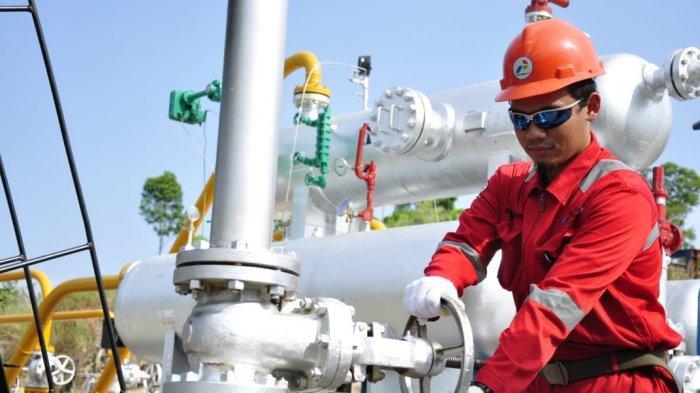Penyerapan Gas Bumi dari Sektor Produksi Industri Mulai Tumbuh