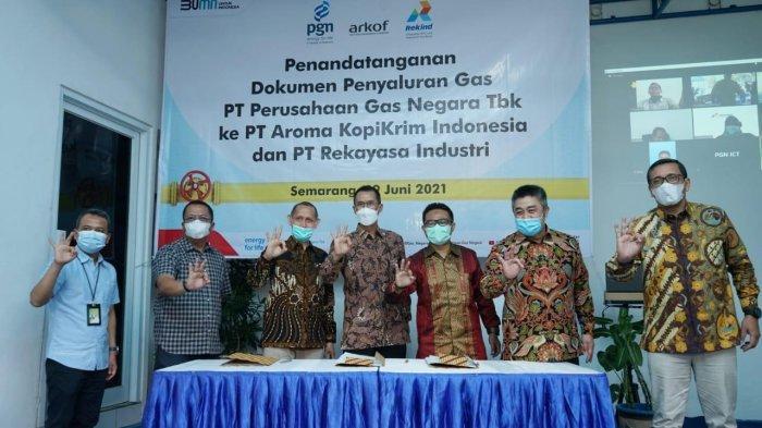 PGN dan Rekind Kerja Sama Pemanfaatan Gas Untuk Commissioning Proyek Jambaran-Tiung Biru