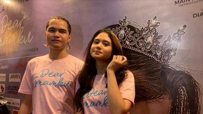 Dul Jaelani dan Tissa Biani saat ditemui di CGV Grand Indonesia, Jakarta Pusat, Senin (10/5/2021).