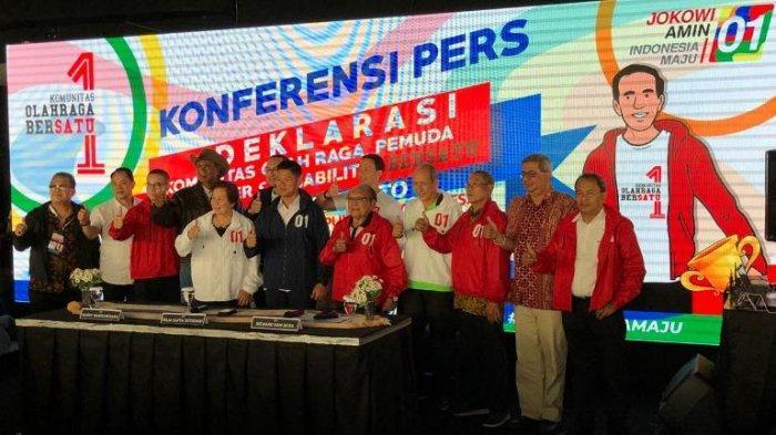 Dunia Olahraga Indonesia Bakal Deklarasikan Dukungannya Kepada Pasangan Jokowi-Maruf Amin