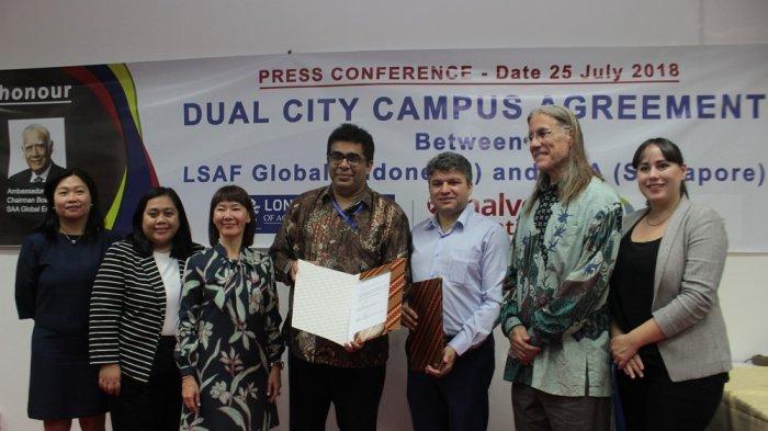 Kembangkan Pendidikan Akuntansi Berstandard Internasional Melalui Dual City Campus Jakarta–Singapura