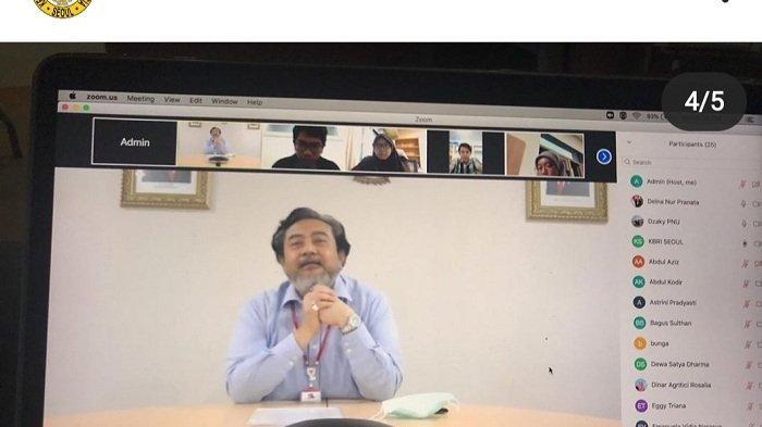 Duta Besar RI untuk Korea Selatan Umar Hadi
