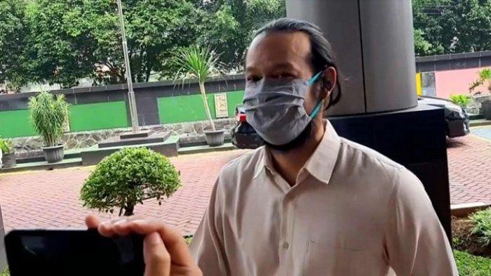Dwi Sasono di Kejaksaan Negeri Jakarta Selatan, Tanjung Barat, Jagakarsa, Jakarta Selatan, Kamis (6/8/2020).
