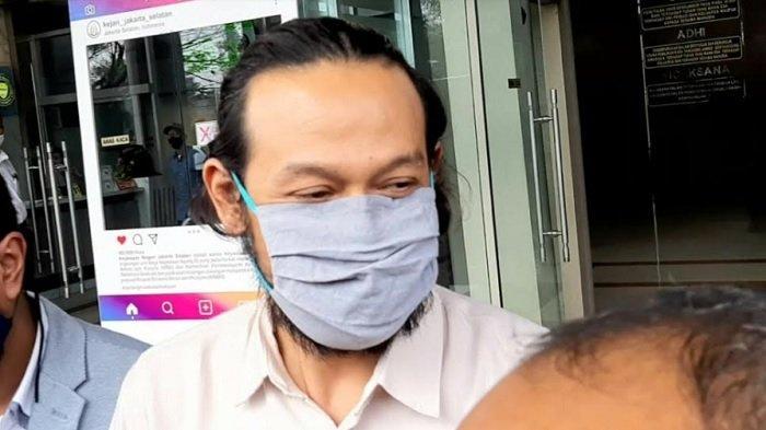 Dwi Sasono ditemui di Kejaksaan Negeri Jakarta Selatan, Tanjung Barat, Jagakarsa, Jakarta Selatan, Kamis (6/8/2020).