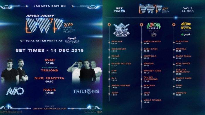 Info Dwp 2019 Jadwal Pengisi Acara Djakarta Warehouse Project Hingga Harga Tiketnya Tribunnews Com Mobile