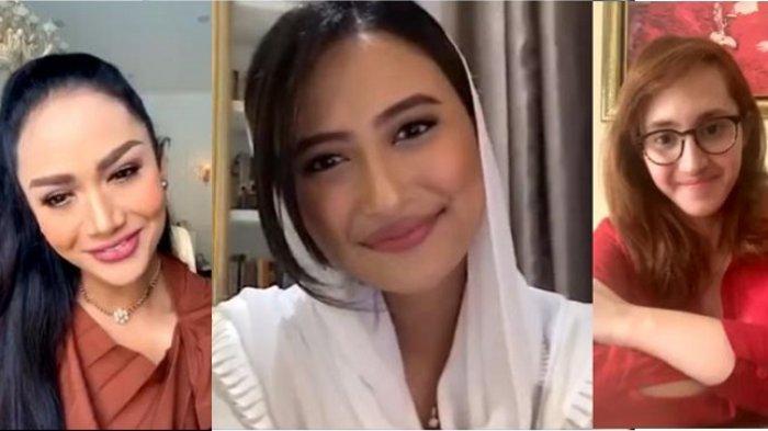 Dyah Roro Esti Ajak Tsamara Amany dan Krisdayanti Bahas Woman in Politic di Masa Pandemi