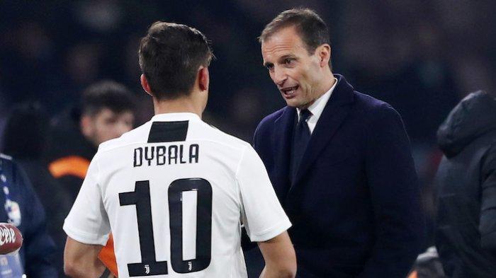 Paulo Dybala dan Alvaro Morata Cedera Jelang Laga Liga Champions Lawan Chelsea, Ini Kata Max Allegri