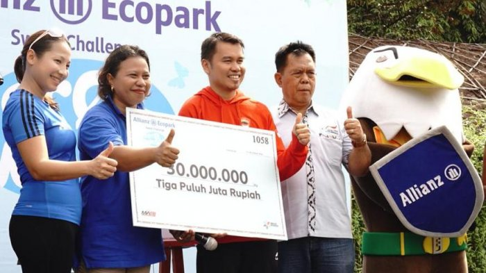 Allianz Sweat Challenge Zero Waste Kembali Digelar