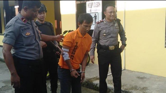 Tahanan Rutan Polsek Teluk Bayur Kembali Ditangkap Setelah 20 Hari Kabur