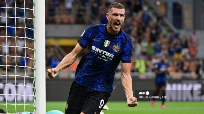 Sorotan Sampdoria vs Inter Milan Liga Italia: Rutinitas Dzeko dan Tajuk Laga Ada Udang di Balik Batu