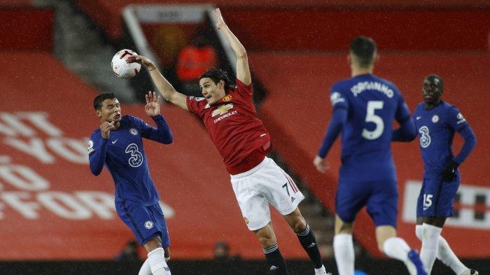 HASIL MU vs Chelsea di Liga Inggris, Imbang 0-0 Warnai Debut Cavani & Nir bobol Perdana de Gea