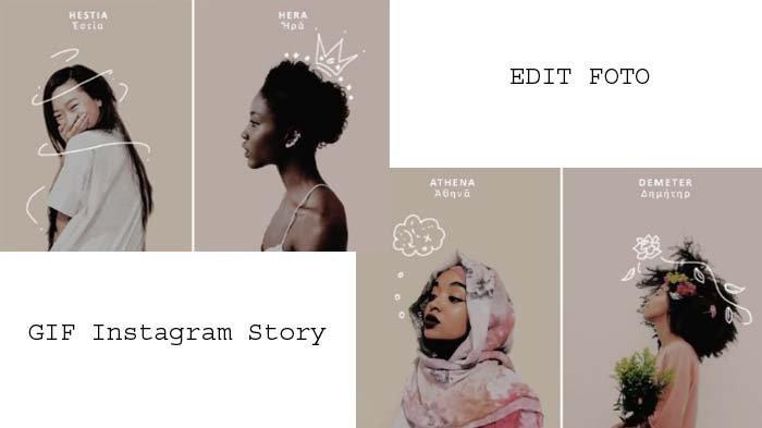 Rekomendasi 10 Gif Keren Di Instagram Story Untuk Edit Foto Bikin Karyamu Makin Kekinian Tribunnews Com Mobile