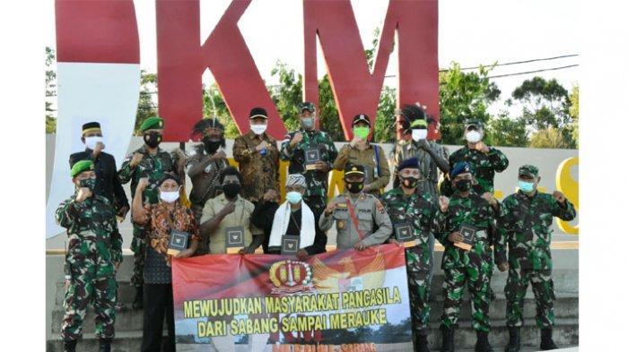 Ini Pesan dari Masyarakat Pancasila di Titik Nol KM Indonesia Sota Merauke