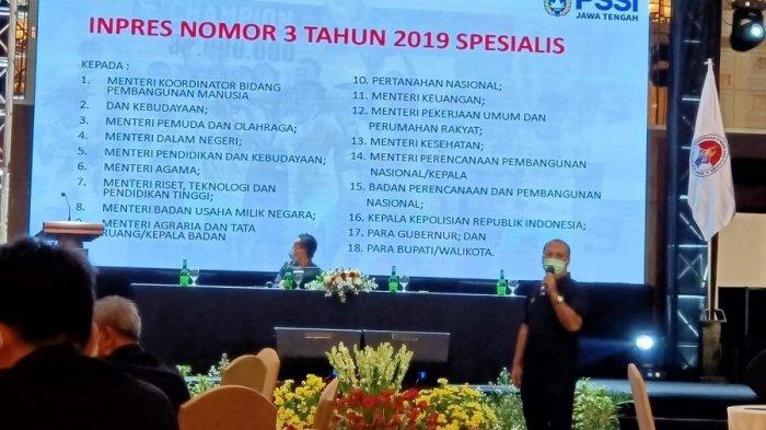 Ketua Asprov PSSI Jateng: Dari Segi Infrastruktur, Jateng Memiliki Stadion Untuk Kompetisi Nasional