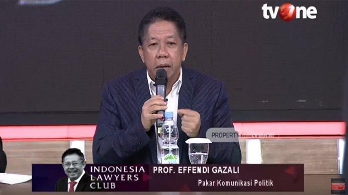 Sindir Wacana Pembebasan Napi Korupsi, Effendi Gazali Buat Karni Ilyas Tertawa: Kalau Keluar Rugi