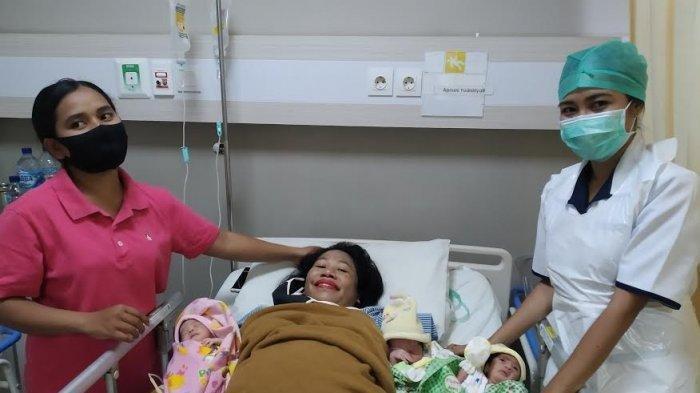 Kisah Wanita di Kupang Lahirkan 3 Bayi Kembar, Suaminya Hilang Tanpa Kabar: 'Dia Tinggalkan Saya'