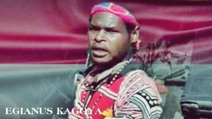 Pemimpin KKB Papua di Kabupaten Nduga, Egianus Kogoya.