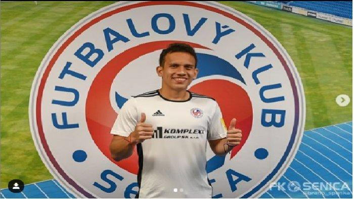 Egy Maulana Vikri berhasil mencatatkan assist dalam laga debutnya bersama FK Senica.