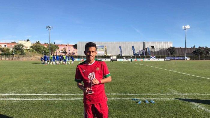 Egy Maulana Vikri Masuk Pelatnas Timnas U-22 ke Kualifikasi Piala Asia 2018