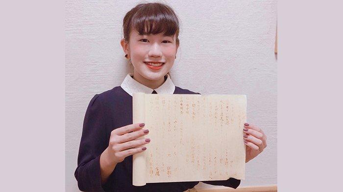 Eimi Haga (19), kelahiran Perfektur Mie Jepang