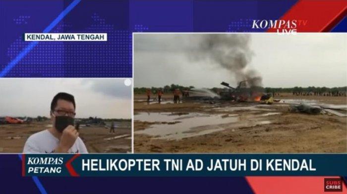 Kesaksian Warga Sekitar Lokasi Helikopter MI-17 TNI AD Terjatuh: Terbang Rendah dan Beberapa Ledakan