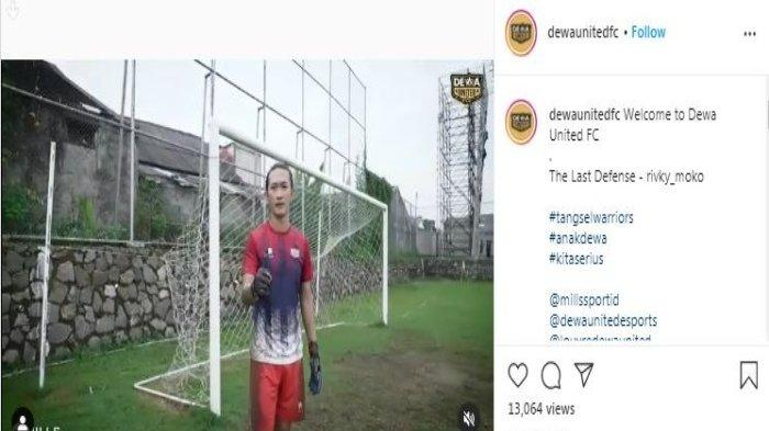 Kabar Liga 2: Mantan Kiper Persebaya Surabaya, Rivky Mokodompit Resmi Gabung Dewa United