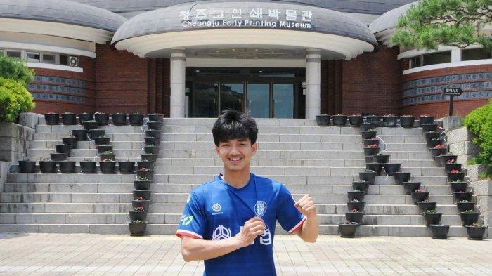 Susul Asnawi ke Korea Selatan, Eks Timnas Indonesia U-19 Muhammad Iqbal Diperkenalkan Cheongju FC