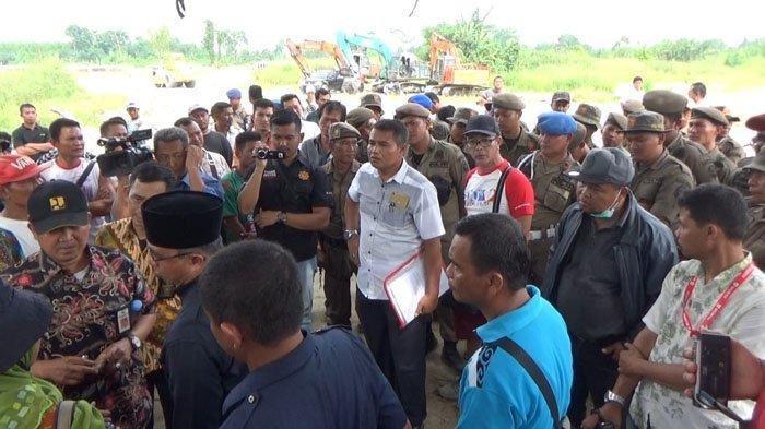 Ditolak Pemilik Lahan, Eksekusi Proyek Pembangunan Bendungan di Deliserdang Batal
