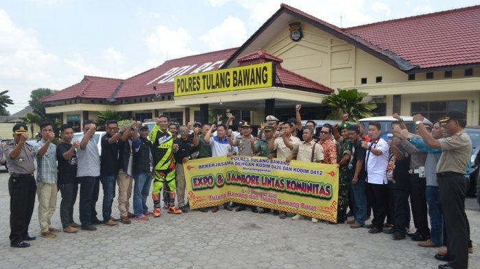 Polres Tulang Bawang Gelar Expo dan Jambore Lintas Komunitas