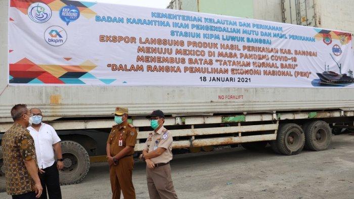 Gurita Olahan Sulawesi Tengah Tembus Pasar Meksiko