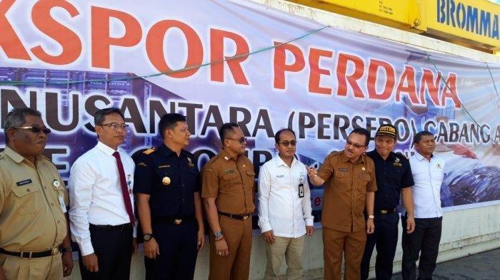 PT Perinus Perdana Ekspor 25 Ton Ikan dari Ambon ke Colombo dalam Rangka Tingkatkan APD Maluku