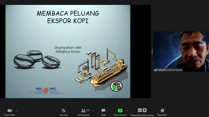 Pandemi Covid-19 Berdampak kepada Ekspor Kopi Indonesia