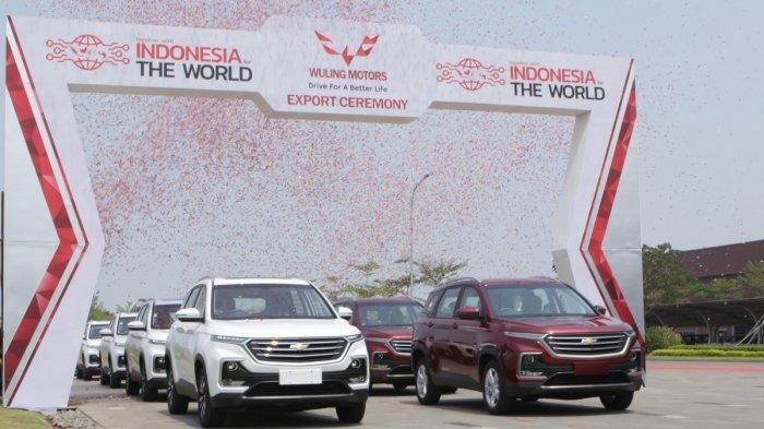 Chevrolet Captiva Rakitan Cikarang Mulai Diekspor ke Thailand, Brunei dan Fiji