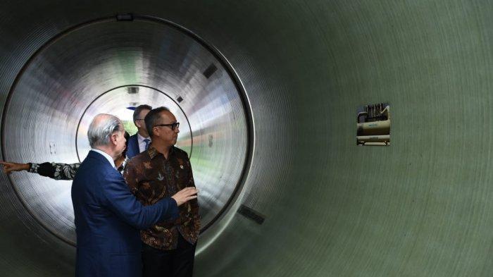 Membanggakan, Indonesia Ekspor Perdana Pipa Fiberglass Berdiameter 3,4 Meter ke AS