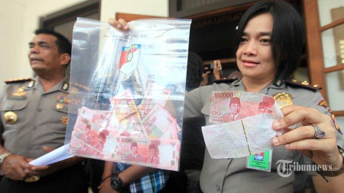 Pemalsuan Uang Belajar dari Tukang Foto Copy dan Pakai Kertas Layang-layang