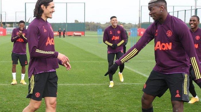 LIVE Streaming Crystal Palace vs Manchester United, Harapan Solskjaer untuk Pogba & Cavani