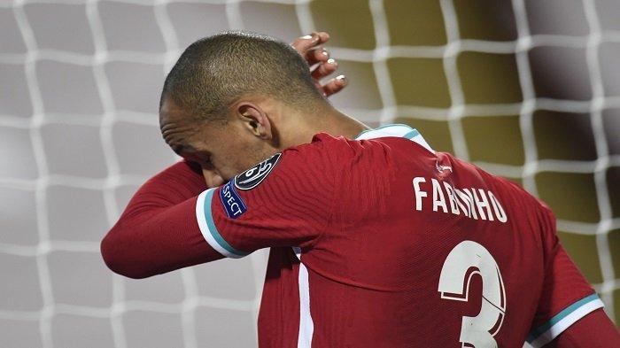 Hasil Babak Pertama Liverpool vs Midtjylland, Fabinho Cedera, The Reds Masih Tertahan