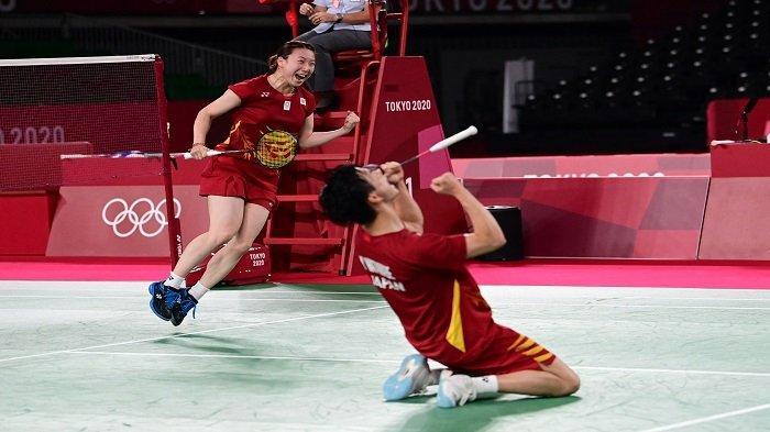 Hasil Bulutangkis Olimpiade Tokyo: Yuta/Arisa Dapatkan Perunggu, Tonggak Sejarah Baru Jepang