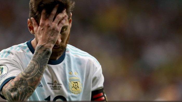 Lionel Messi Hanya Pasrah Usai Kekalahan di Piala Dunia 2014